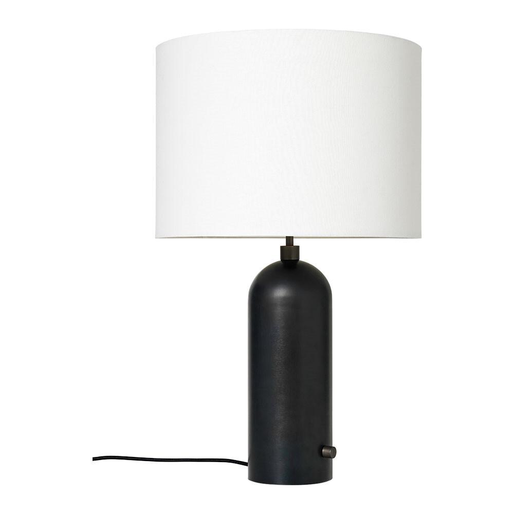 Billede af Gravity Bordlampe Small Sort Stål/Hvid - GUBI