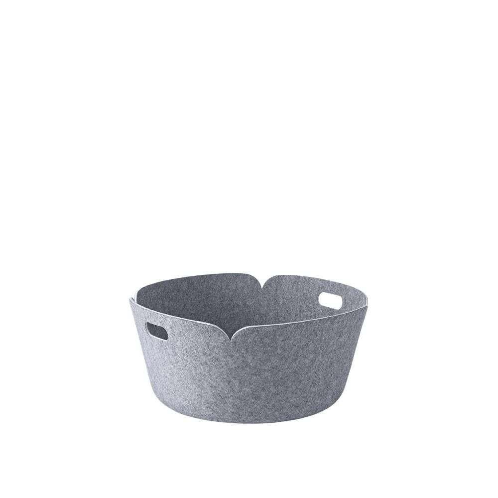 Restore Round Basket Grey Melange - Muuto thumbnail