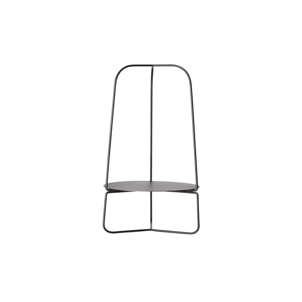 Auka Flower Stand Charcoal Black - Woud thumbnail