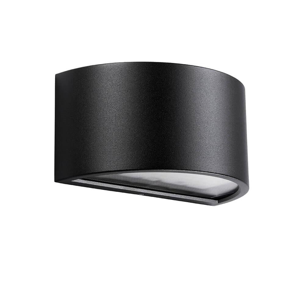 Melrie 2X5,5W Udendørs Væglampe Sort - Ares