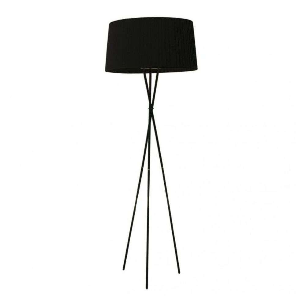 Image of Trípode G5 Gulvlampe Black/Black Ribbon - Santa & Cole (16191247)