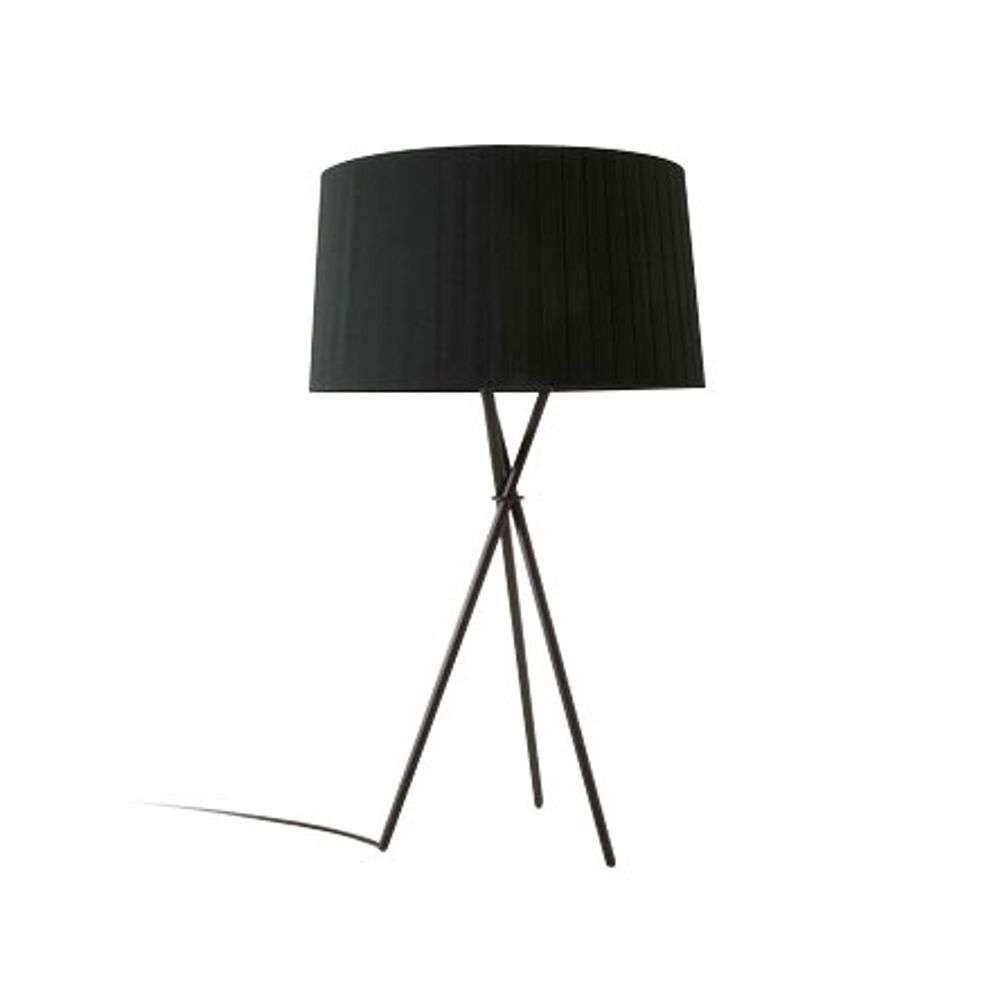 Image of Trípode G6 Bordlampe Black/Black Ribbon - Santa & Cole (16189339)