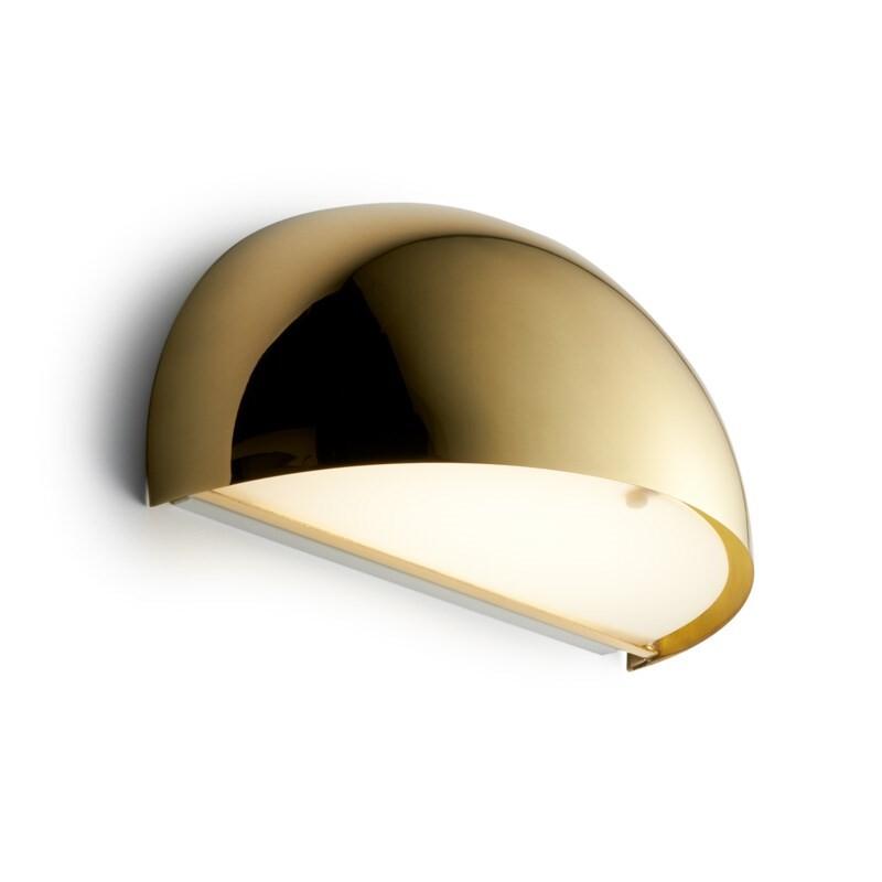 Rørhat Væglampe 10,5W LED Messing – LIGHT-POINT