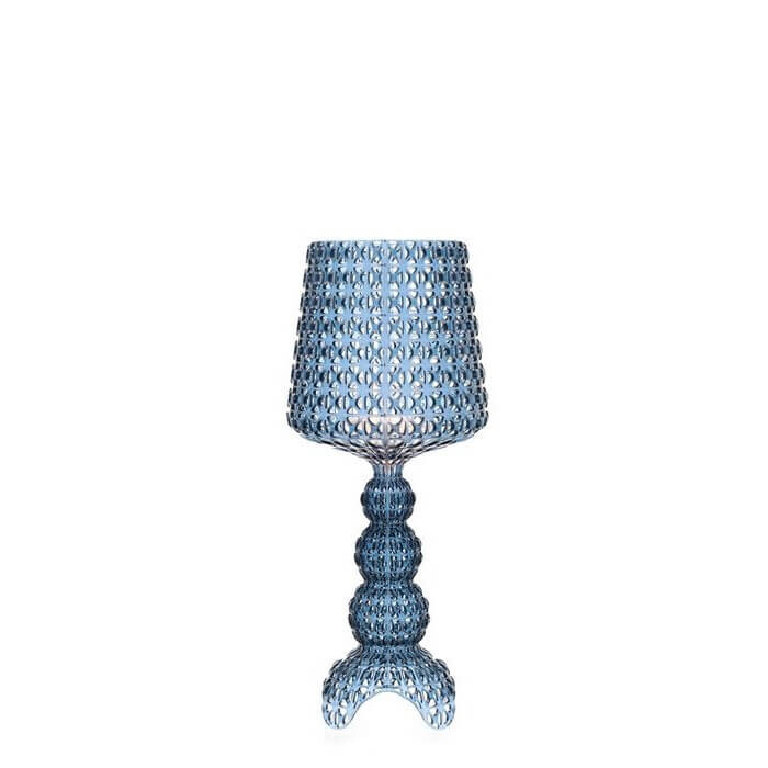 Billede af Mini Kabuki Bordlampe Lys Blå - Kartell