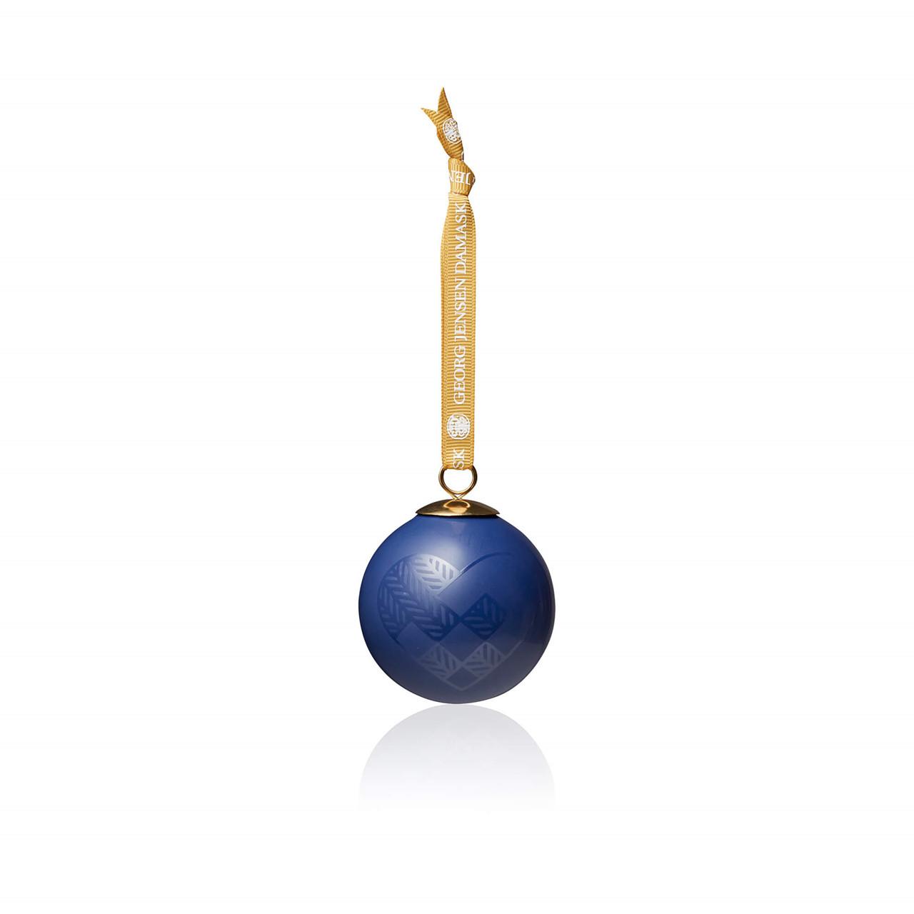 Image of   4 stk. Julekugler (200X260, Blue)