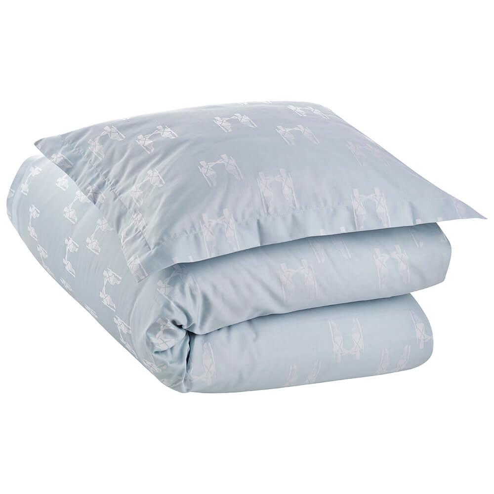 Billede af FAIRYTALE baby- og junior sengetøj Blue (28X35-Pude / 70X80-Dyne / SE-babysæt, Blue)