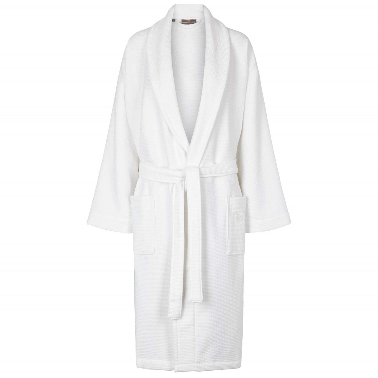 Classic White Bathrobe In An Exclusive Design Pure Everyday Luxury