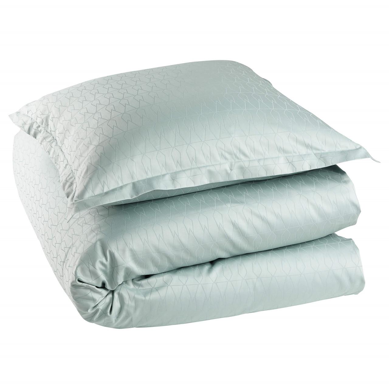 Køb GRID sengetøj Jade Green (Jade Green, 135/140×200 cm/60×63 cm)