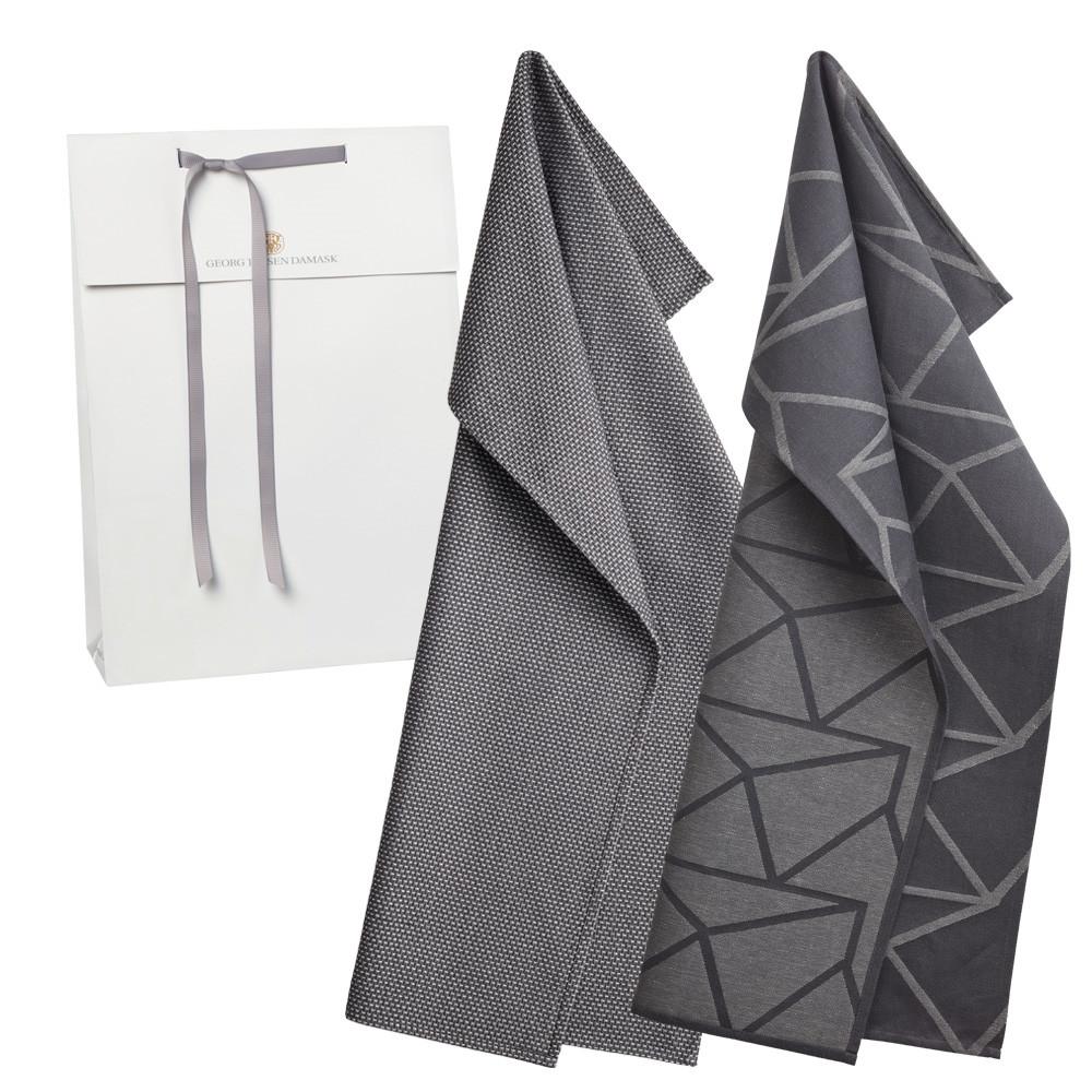 Image of   1 stk. viskestykke og 1 stk. køkkenhåndklæde