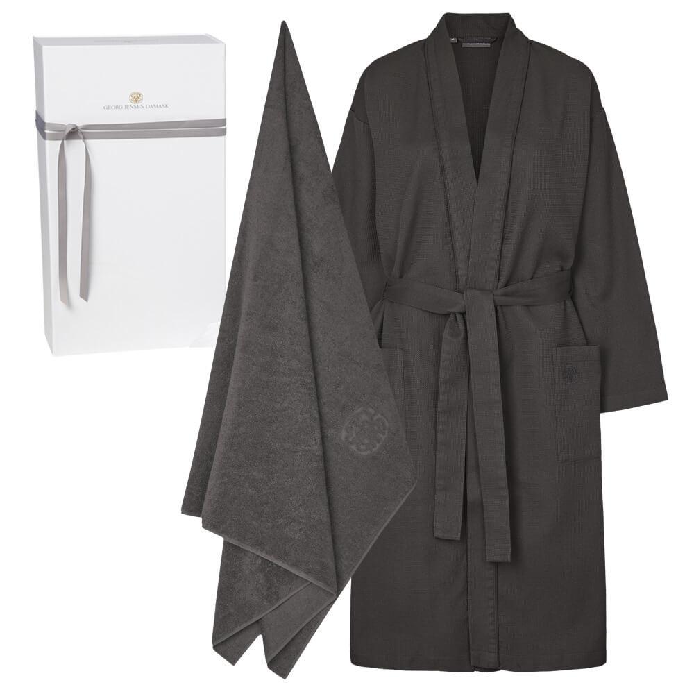 Image of   1 stk. kimono og 1 stk. badelagen