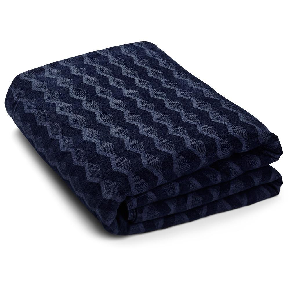 KUBUS sengetæpper Navy Blazer (190X260, Navy Blazer)