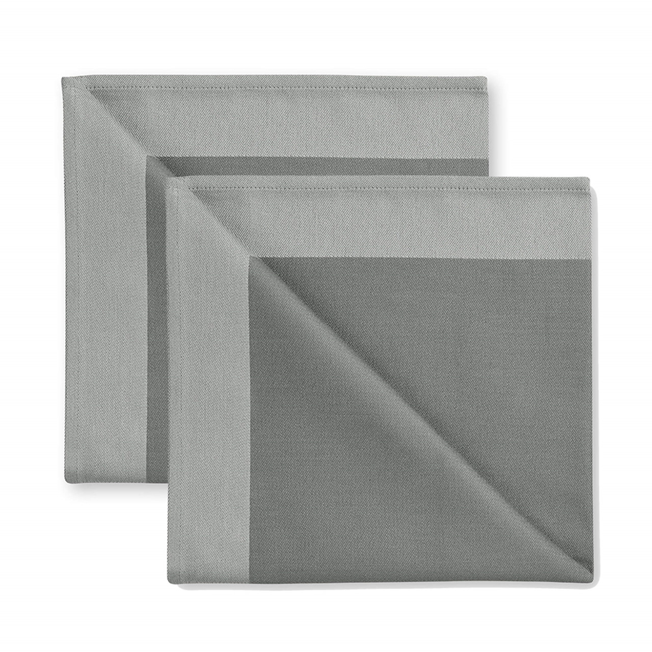 Image of 2 stk. DAMASK servietter Winter Grey