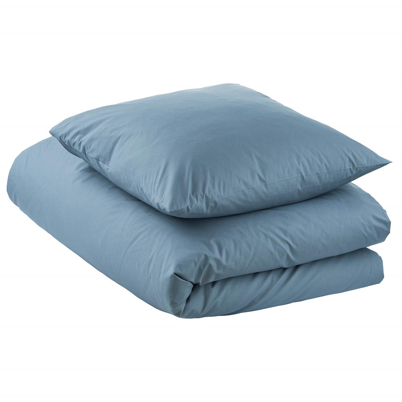 Køb PERCALE sengetøj China Blue (China Blue, 1 stk. 50×70-Pude / 1 stk. 140×200-Dyne)