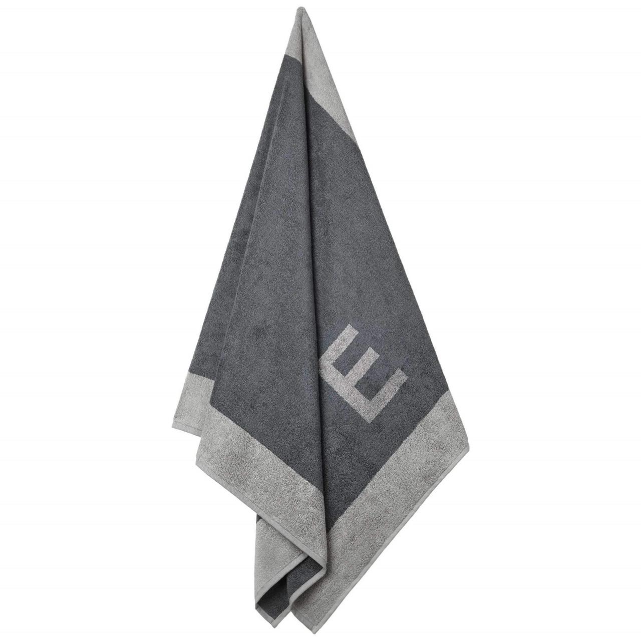 Badehåndklæde med E