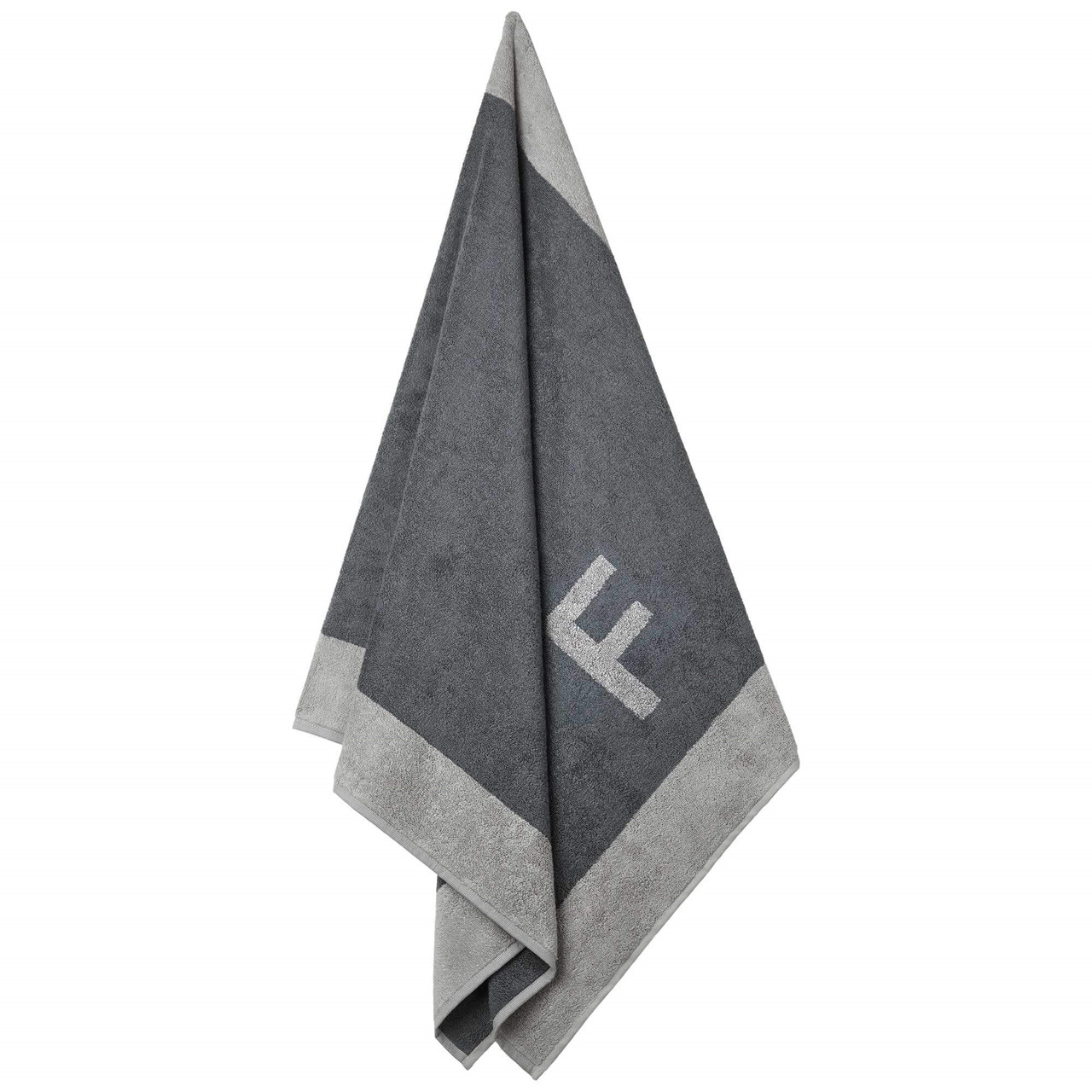 Badehåndklæde med F