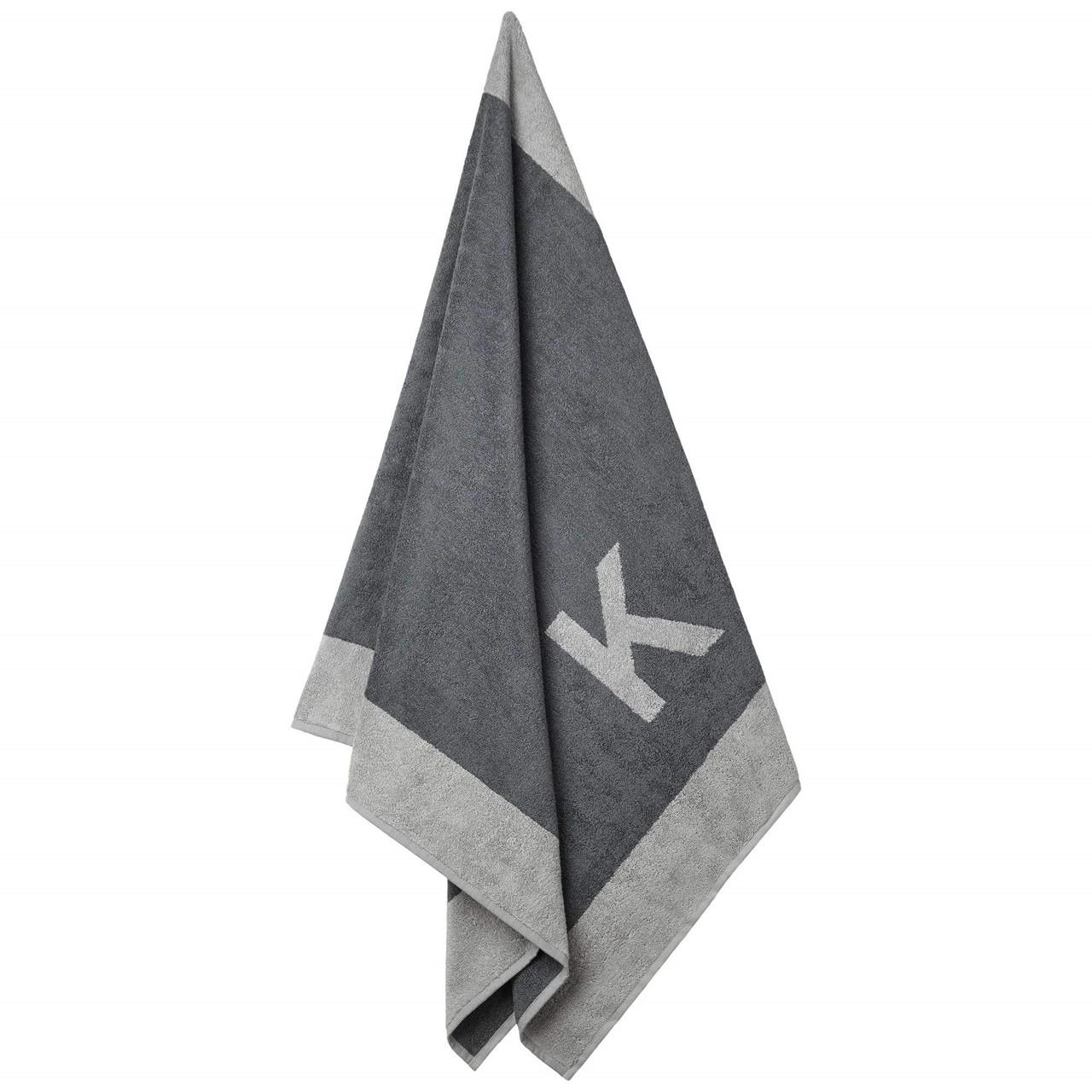 Badehåndklæde med K