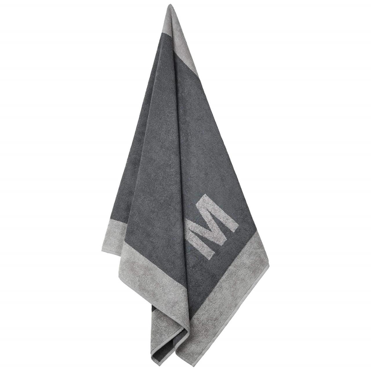 Badehåndklæde med M