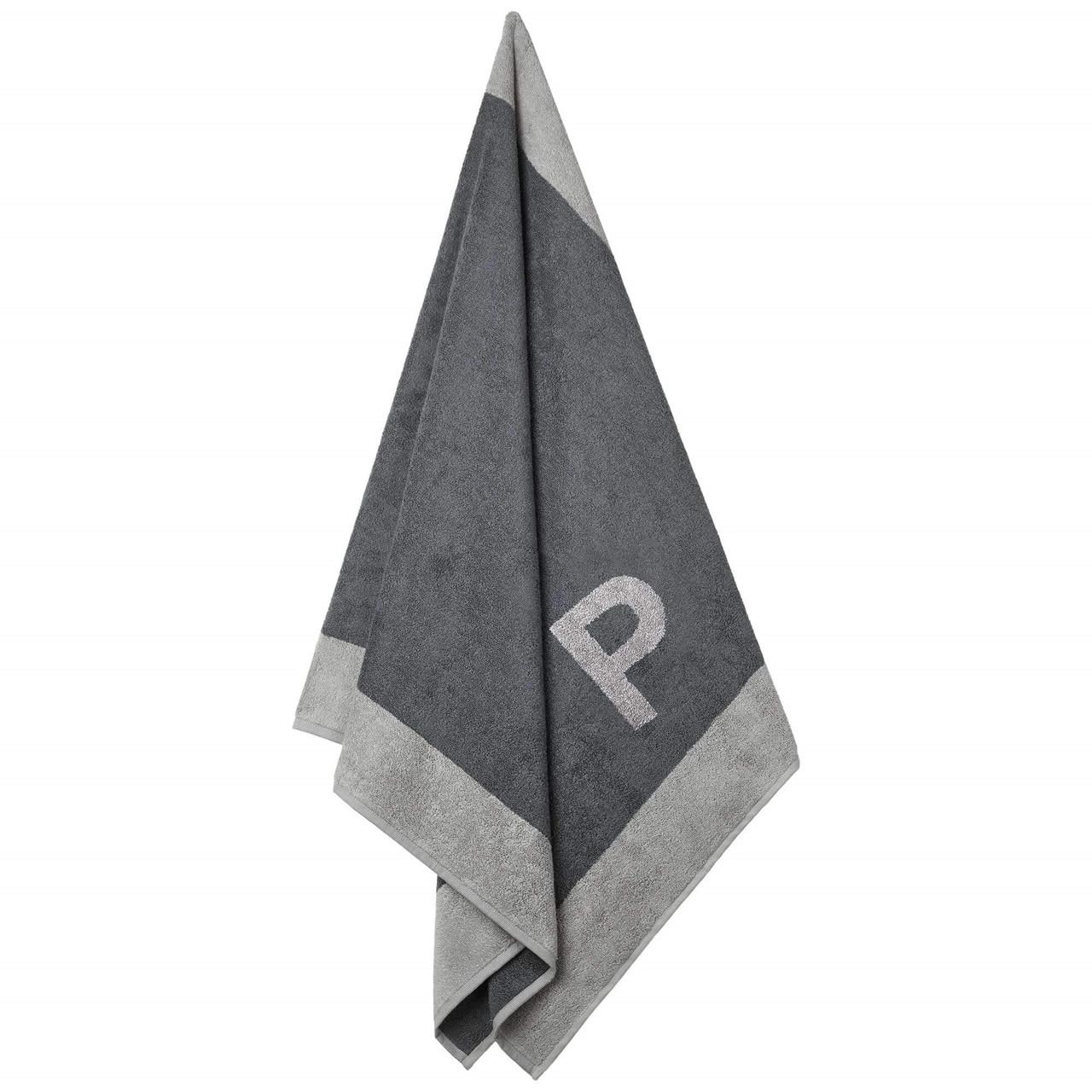Badehåndklæde med P