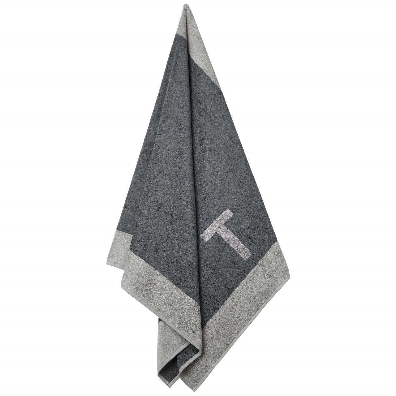 Badehåndklæde med T