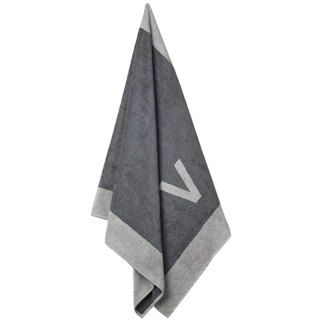 Badehåndklæde med V