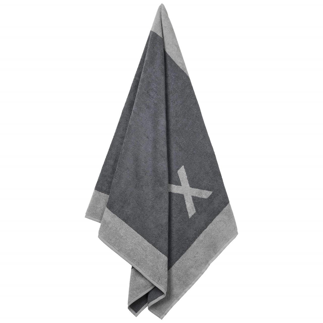 Badehåndklæde med X