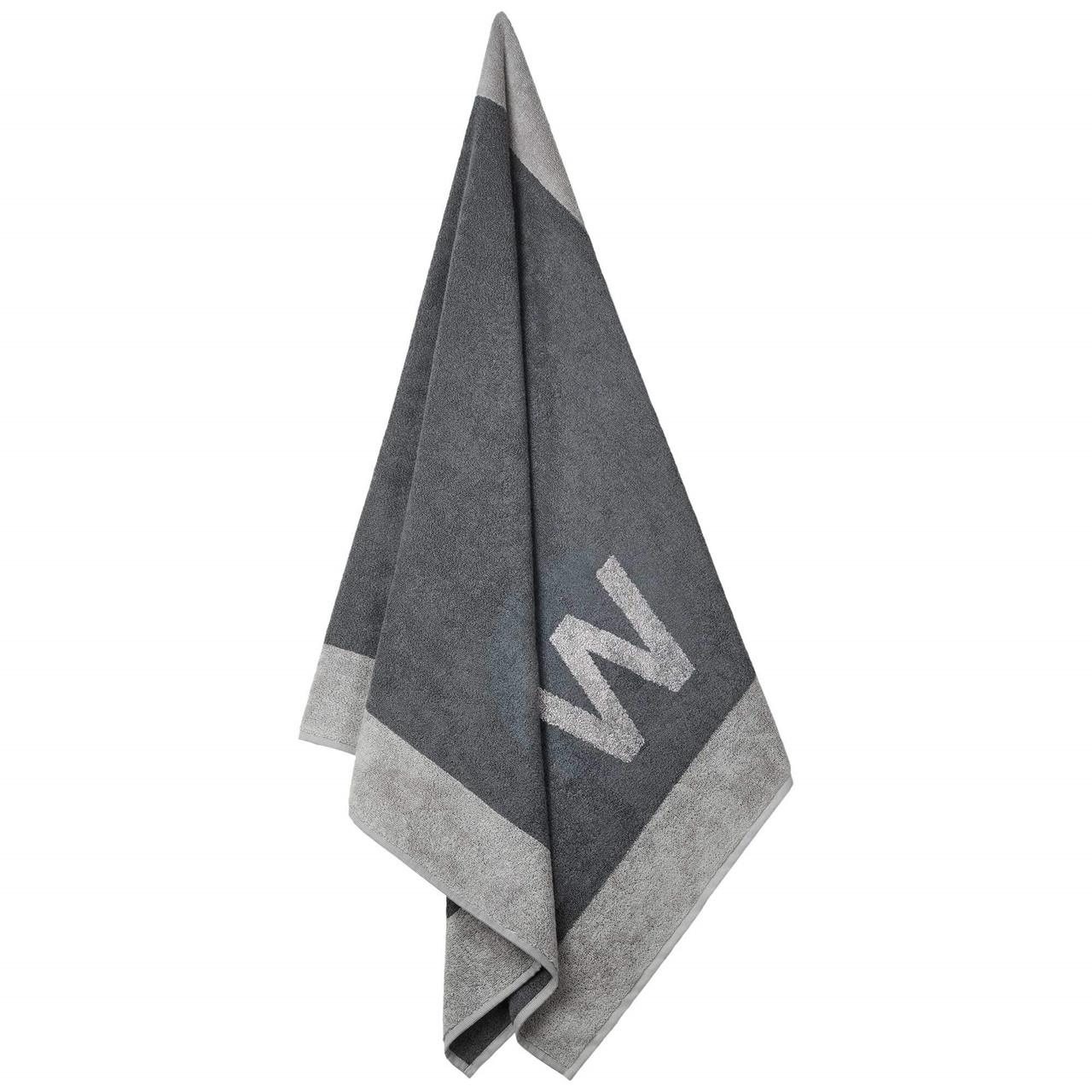 Badehåndklæde med W