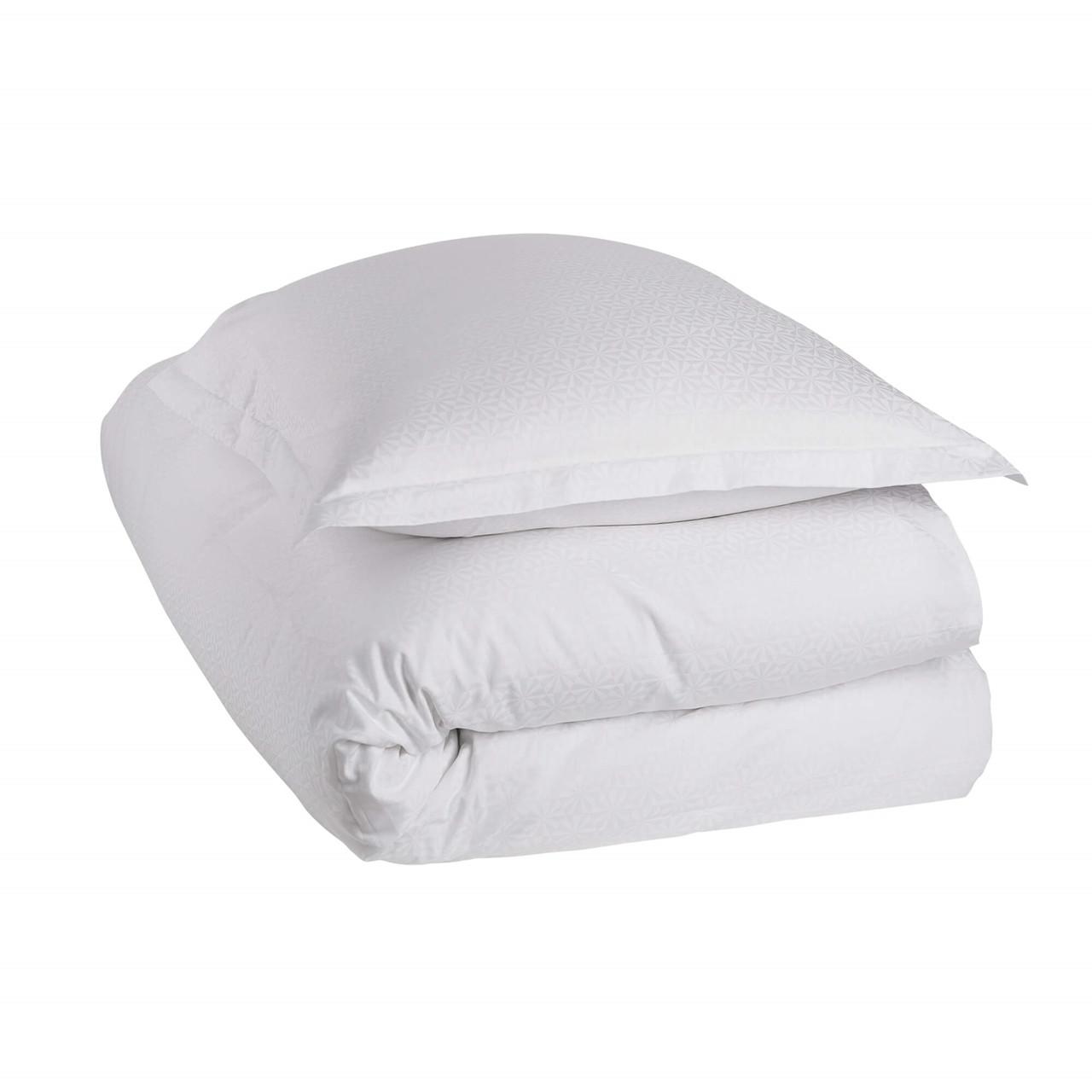 Køb WINDMILLS sengetøj White (White, 1 stk. 60×63-Pude / 1 stk. 140×220-Dyne)