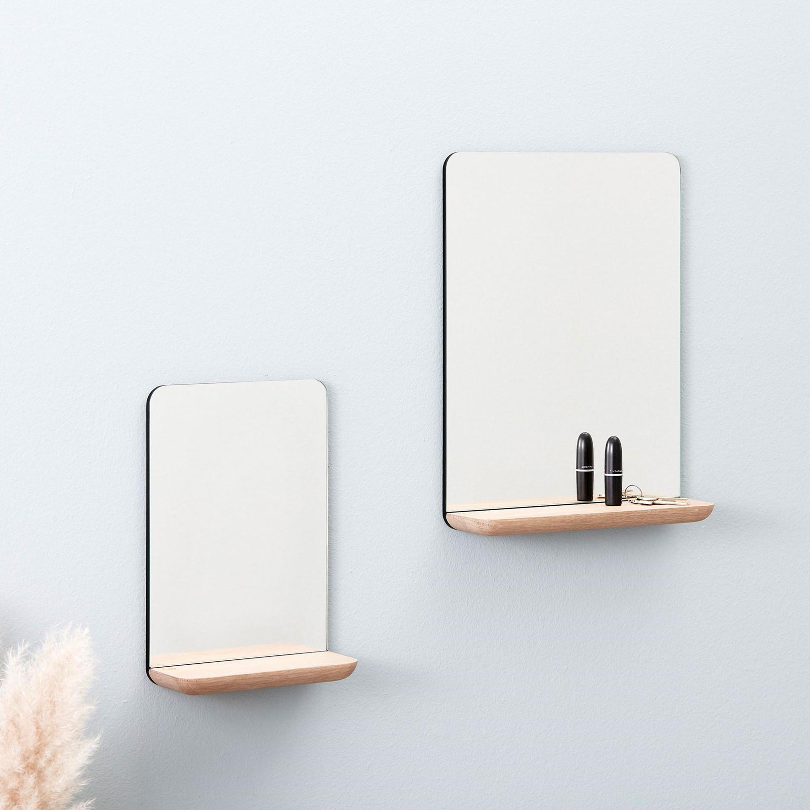 Picture of: Kob Andersen Furniture A Wall Mirror Small Oak Lige Her Laekker Kvalitet Hurtig Fragt