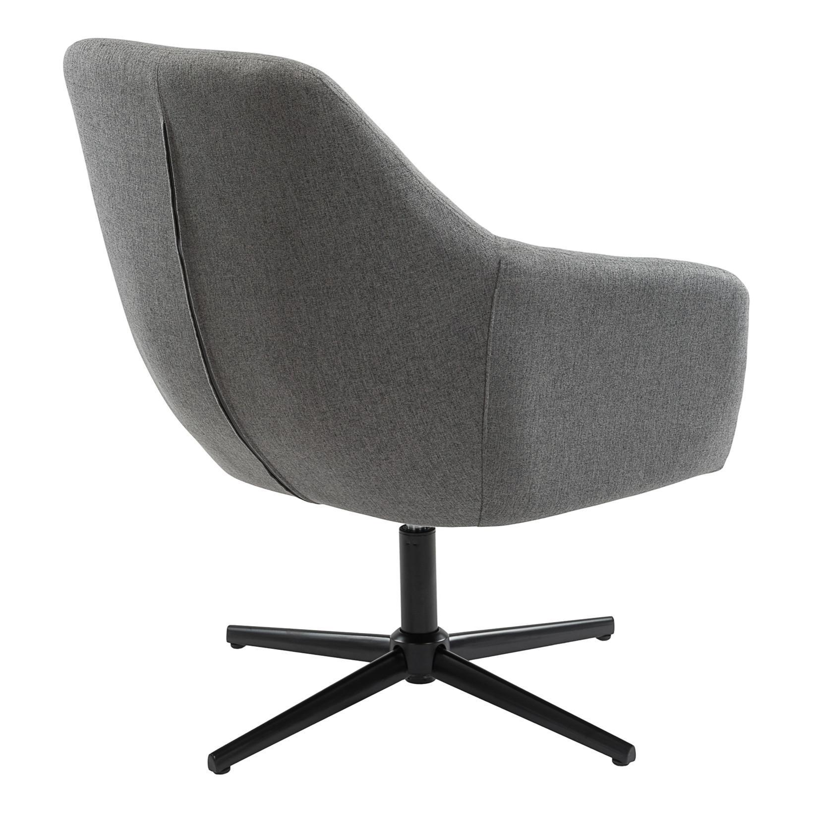 Køb AVA loungestol mørkegrå lige her! | Lækker kvalitet | Hurtig fragt!