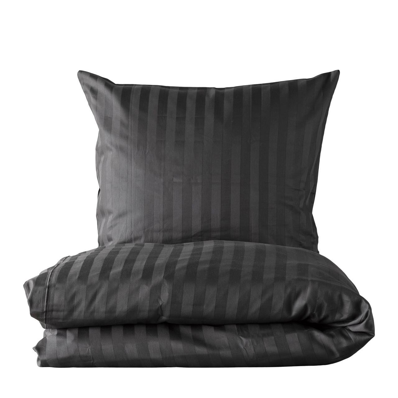 Picture of: Kob Juna Folded Stripes Sengetoj 140×200 Cm Hvid Lige Her Laekker Kvalitet Hurtig Fragt