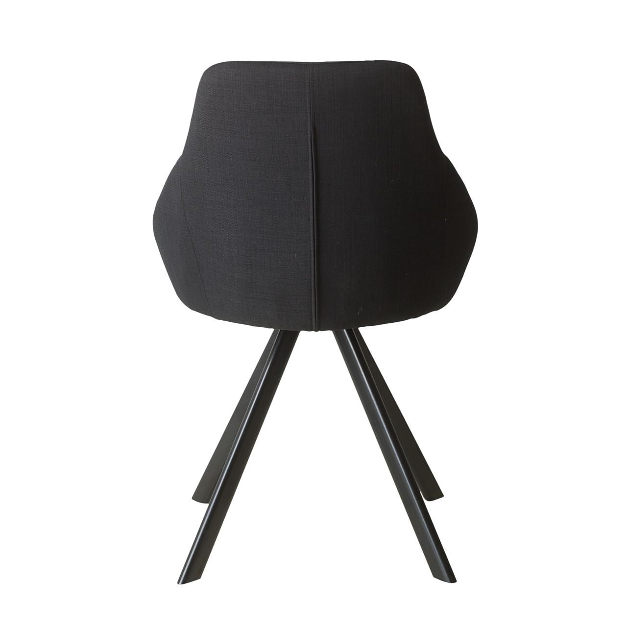 VIGGA spisebordsstol sort » Køb her