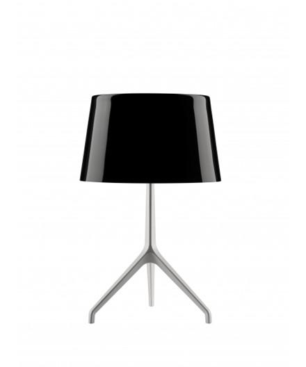 Lumiere XXS Bordlampe Sort Krom/Hvid - Foscarini