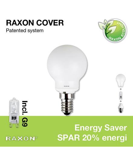 Lampe 33W Globe Cover Ø45 E14 - Raxon