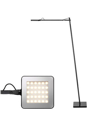 Kelvin LED F Gulvlampe Sort - Flos