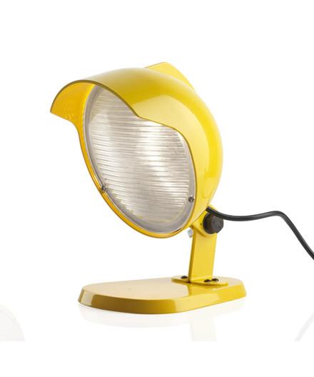 DUII Mini Væglampe/Bordlampe Gul - Diesel