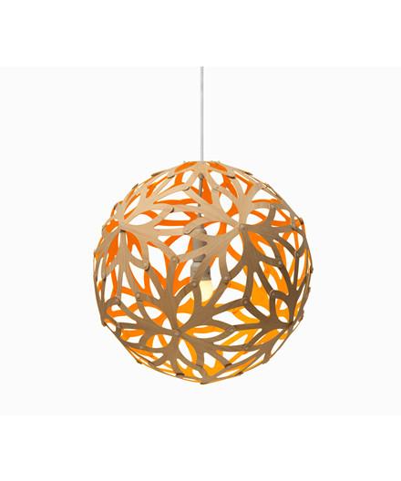 Floral Orange Pendel - David Trubridge