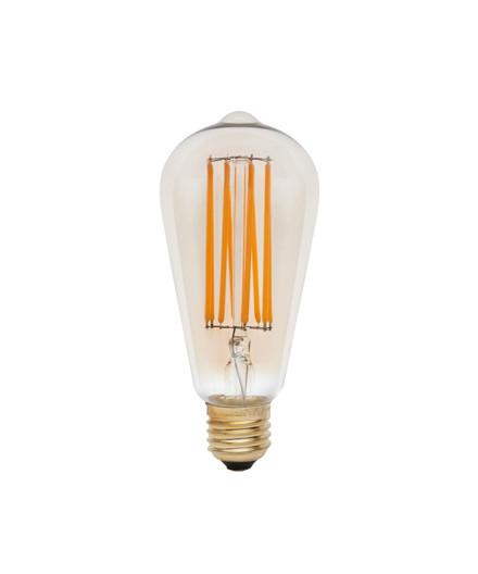 Päronlampa LED 3W Squirrel Cage E27 - Tala