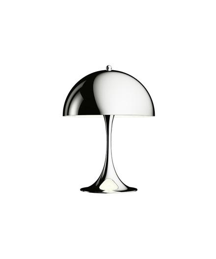 Panthella MINI Bordlampe Krom - Louis Poulsen