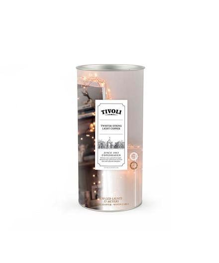 Twister String Light Copper 150  - TIVOLI LIGHTS