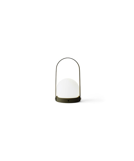 Carrie LED Bordlampe Olive - Menu