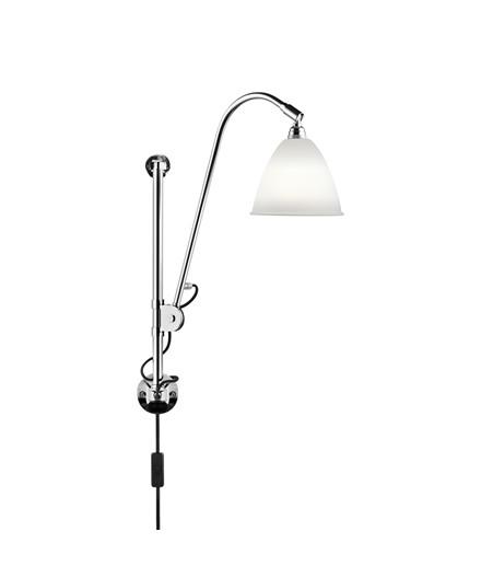 Bestlite BL5 Vegglampe Ø16 Krom/Porselen - GUBI