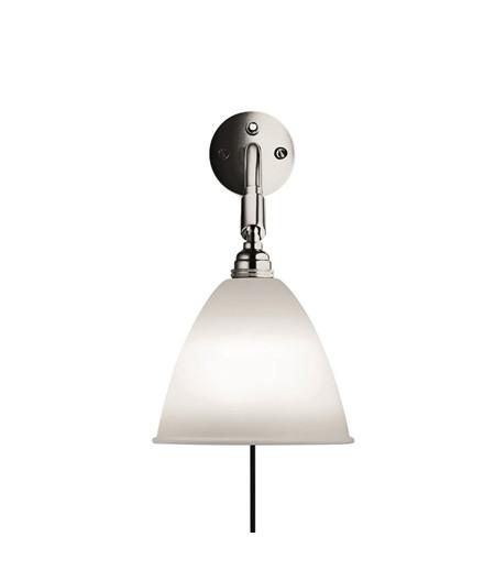 Bestlite BL7 Væglampe Ø16 Krom/Porcelæn - GUBI