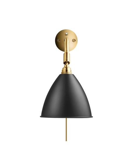 Bestlite BL7 Væglampe Ø16 Messing/Sort - GUBI