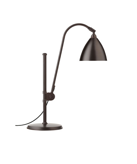 BL1 Bordlampe Ø16 Svart Messing/Svart Messing - GUBI