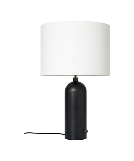 Gravity Bordlampe Large Svart Stål/Hvit - GUBI