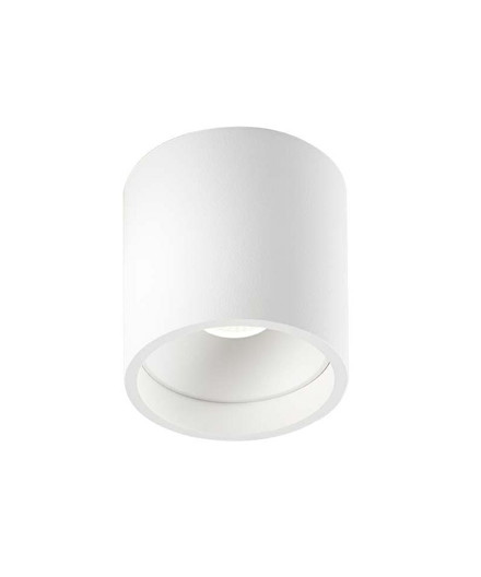 Solo Round Loftlampe Hvid - LIGHT-POINT