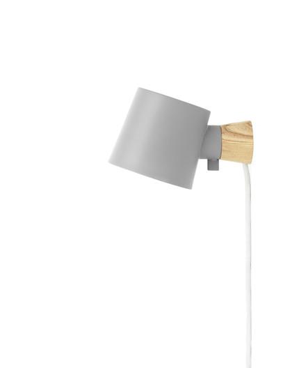 Rise Væglampe Grå - Normann