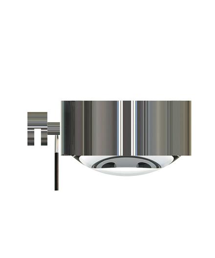 Puk Maxx Væglampe LED Lens + Glass Krom - Top Light
