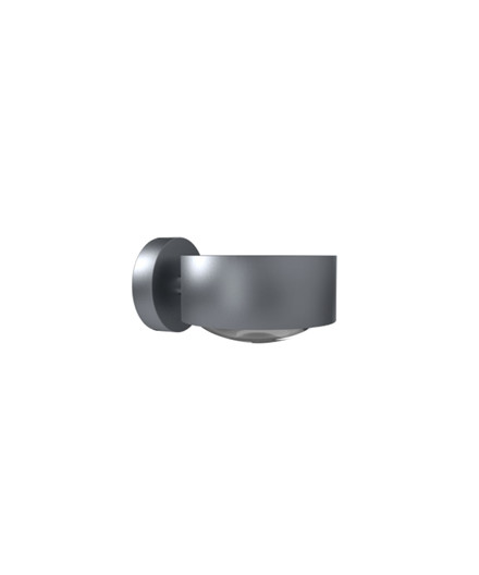 Puk Maxx LED Væglampe Lens + Glas Mat Krom - Top Light