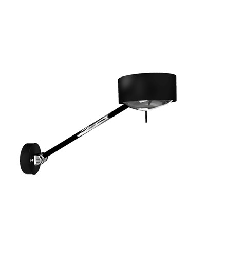 Puk Maxx Wing Single Væglampe Sort - Top Light